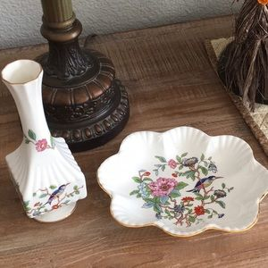 Aynsley Pembroke China vase/small dish